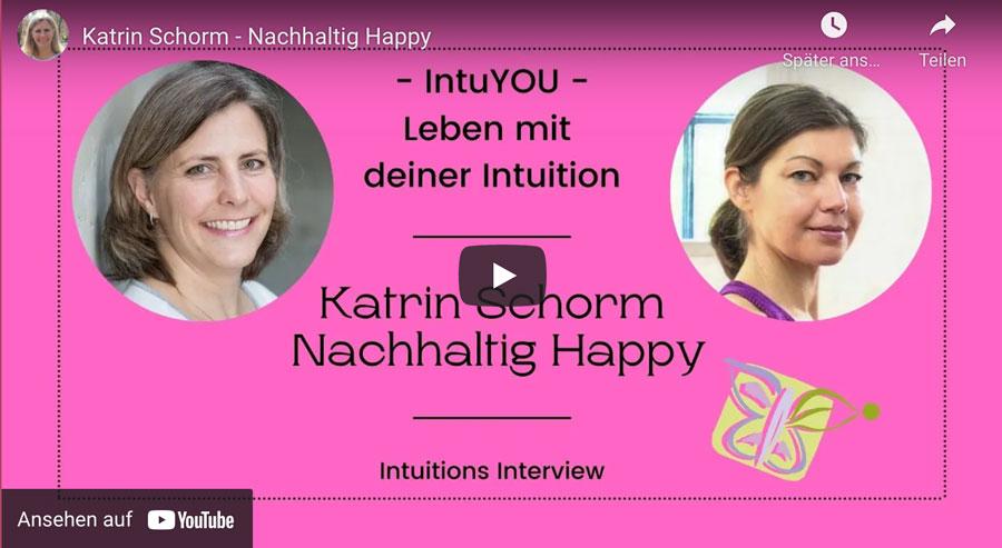 Katrin Schorm im Interview / Nachhaltig leben